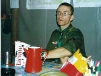 2002.07.12-27 - Momoty - Kwatermistrz w kadrówce