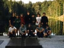 1996.07.23 - Bieszczady-Roztocze, przy zaporze w Górecku