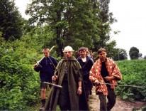 2000.07.07-16 - Widełki, obóz 1 SSH-y Czarni - Grunwald, w drodze na pole bitwy