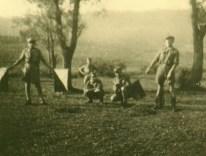 1946 - Baszowice - Kurs Drużynowych - Obóz, nauka sygnalizacji