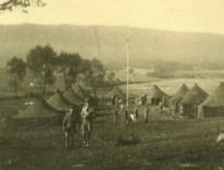 1946 - Baszowice - Kurs Drużynowych - Obóz, widok obozowiska