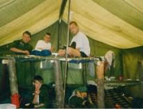 Bronkowice - Trójka w namiocie