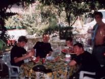 Śniadanie w Pompejach